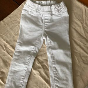 3T white jeans